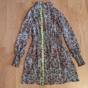 Long sleeve one piece dress